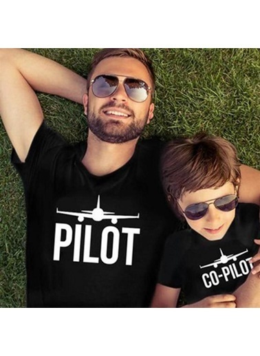 Quzucuk Kids Erkek Çocuk T-Shirt - Siyah Renkli